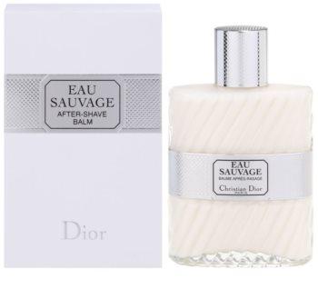Dior Eau Sauvage balzám po holení pro muže 100 ml
