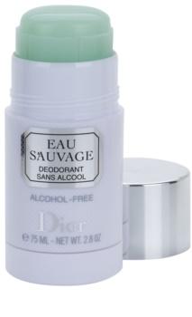 Dior Eau Sauvage deo-stik za moške 75 ml