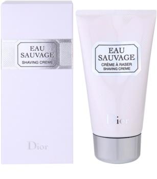 Dior Eau Sauvage krém na holení pro muže 150 ml