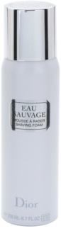 Dior Eau Sauvage spuma de ras pentru barbati 200 ml