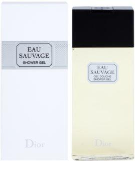 Dior Eau Sauvage gel de dus pentru barbati 200 ml