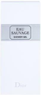Dior Eau Sauvage tusfürdő férfiaknak 200 ml