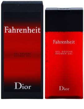 Dior Fahrenheit żel pod prysznic dla mężczyzn 200 ml