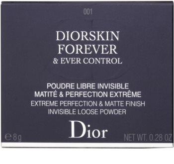 Dior Diorskin Forever & Ever Control pudra pulbere matifianta