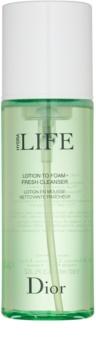 Dior Hydra Life освежаваща почистваща пяна за всички типове кожа на лицето