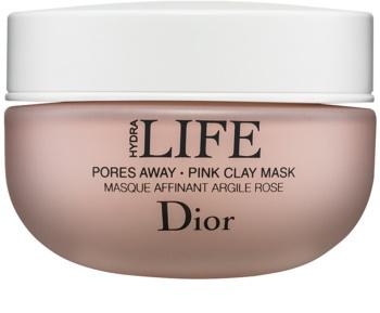 Dior Hydra Life Pores Away čistiaca pleťová maska