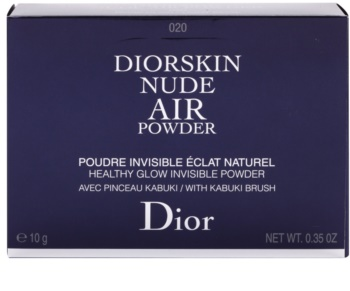 Dior Diorskin Nude Air Powder kompaktný púder so štetčekom