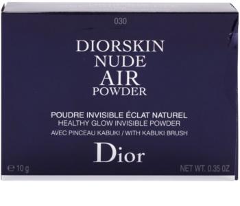 Dior Diorskin Nude Air Powder компактна пудра зі щіточкою
