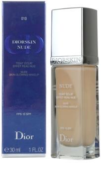 Dior Diorskin Nude tekutý make-up SPF 15