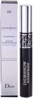 Dior Diorshow Mascara Waterproof подовжуюча та об'ємна водостійка туш для вій