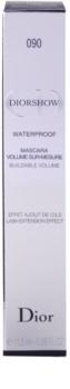 Dior Diorshow Mascara Waterproof vízálló göndörítő és nagyobbító szempillaspirál