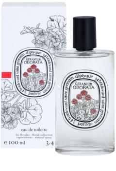 Diptyque Geranium Odorata Eau de Toilette unisex 100 ml