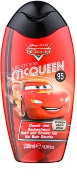 Disney Cosmetics Cars 2 in 1 spuma de baie si gel de dus