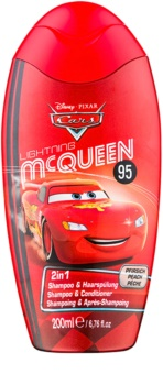 Disney Cosmetics Cars champú y acondicionador 2 en 1