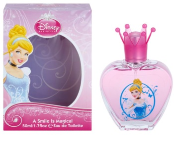 Disney Princess Cinderella A Smile Is Magical eau de toilette para niños 50 ml