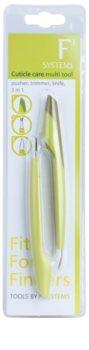 Diva & Nice Cosmetics Accessories multifunkčný nástroj na starostlivosť o nechtovú kožtičku 3v1