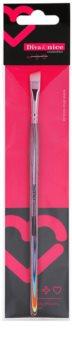 Diva & Nice Cosmetics Professional скошений пензлик для тіней