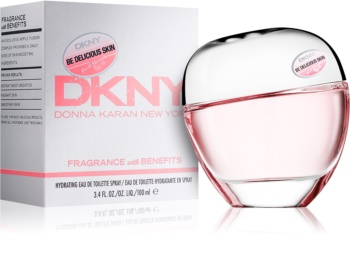 DKNY Be Delicious Fresh Blossom Skin Hydrating Eau de Toilette voor Vrouwen  100 ml