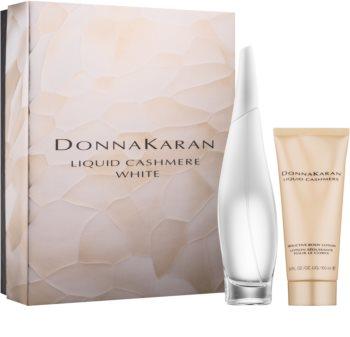 DKNY Liquid Cashmere White lote de regalo III