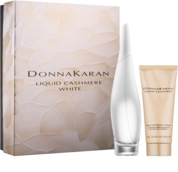 DKNY Liquid Cashmere White set cadou III