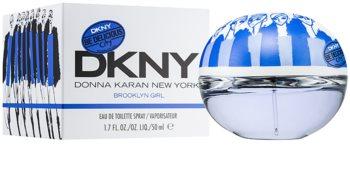 DKNY Be Delicious City Girls Brooklyn Girl toaletna voda za žene 50 ml