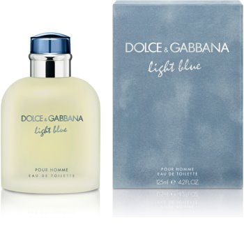 Dolce & Gabbana Light Blue Pour Homme Eau de Toilette for Men 125 ml