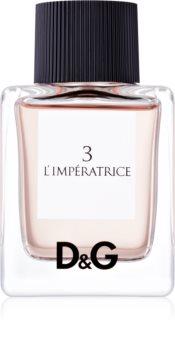 Dolce & Gabbana D&G Anthology L'Imperatrice 3 Eau de Toilette für Damen 50 ml