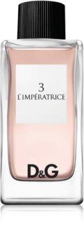 Dolce & Gabbana 3 L'Imperatrice eau de toilette pour femme 100 ml
