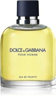 Dolce & Gabbana Pour Homme Eau de Toillete για άνδρες 125 μλ