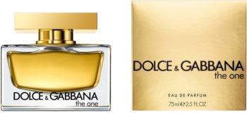 Dolce & Gabbana The One eau de parfum nőknek 75 ml