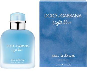 Dolce & Gabbana Light Blue Pour Homme Eau Intense parfumovaná voda pre mužov 100 ml