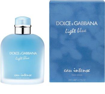 Dolce & Gabbana Light Blue Pour Homme Eau Intense eau de parfum para homens 200 ml