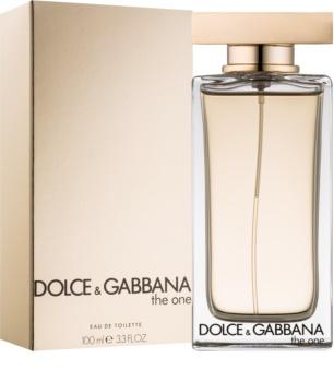 Dolce & Gabbana The One Eau de Toilette eau de toilette pentru femei 100 ml