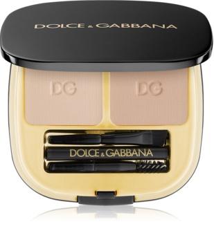 Dolce & Gabbana Emotioneyes Brow Powder Duo набір для моделювання  ідеальної форми брів