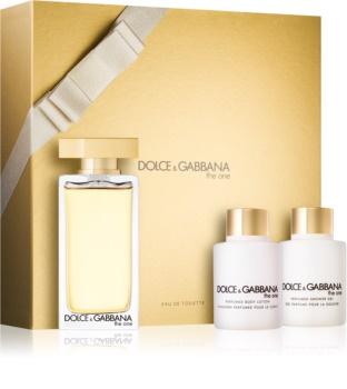 Dolce & Gabbana The One Eau de Toilette dárková sada
