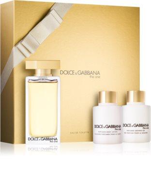 Dolce & Gabbana The One Eau de Toilette zestaw upominkowy