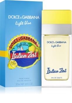 Dolce & Gabbana Light Blue Italian Zest eau de toilette nőknek 50 ml