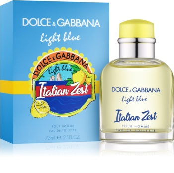 c93c47266be47 Dolce   Gabbana Light Blue Italian Zest eau de toilette para homens 75 ml