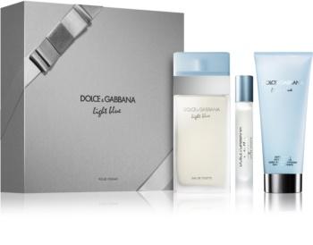 Dolce & Gabbana Light Blue dárková sada IX.