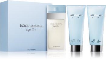 Dolce & Gabbana Light Blue ajándékszett XII.