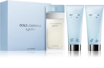 Dolce & Gabbana Light Blue dárková sada XII.