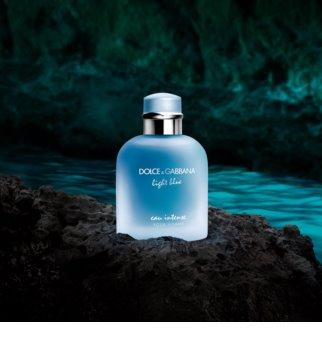 Dolce & Gabbana Light Blue Pour Homme Eau Intense Eau de Parfum für Herren 100 ml