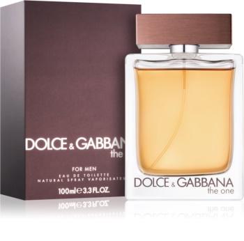 Dolce & Gabbana The One for Men Eau de Toilette para homens 100 ml