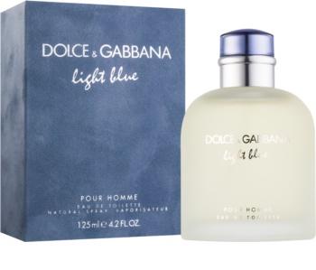 Dolce & Gabbana Light Blue Pour Homme Eau de Toilette for Men 125 ml