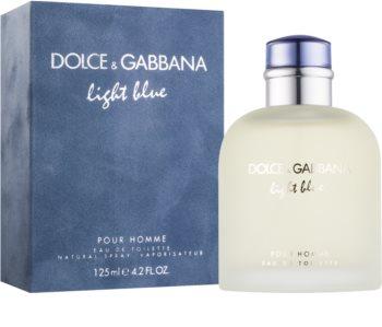 Dolce & Gabbana Light Blue Pour Homme toaletní voda pro muže 125 ml
