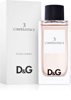 Dolce & Gabbana D&G Anthology L'Imperatrice 3 eau de toilette pentru femei 100 ml