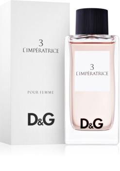Dolce & Gabbana D&G Anthology L'Imperatrice 3 woda toaletowa dla kobiet 100 ml