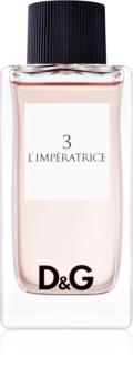 Dolce & Gabbana D&G Anthology L'Imperatrice 3 eau de toilette nőknek 100 ml