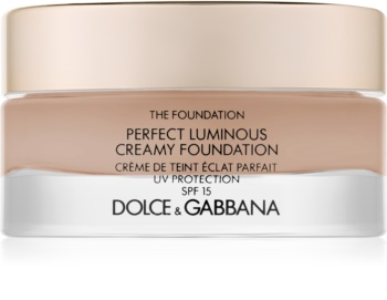 Dolce & Gabbana The Foundation Perfect Luminous Creamy Foundation rozjasňujúci krémový make-up SPF 15