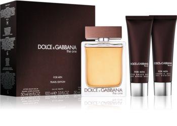 Dolce & Gabbana The One for Men dárková sada V.